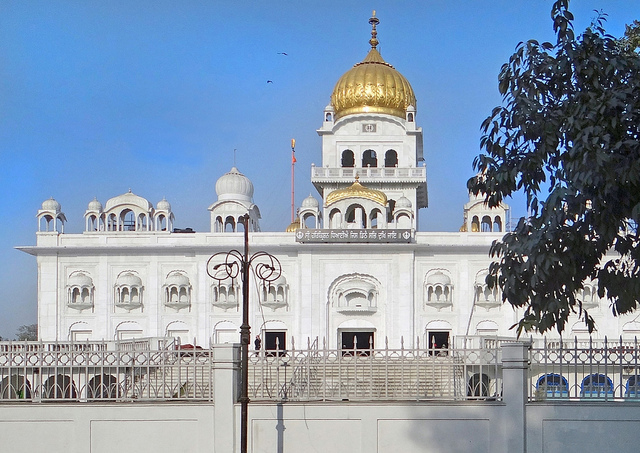 Le Gurdwara Bangla Sahib, sanctuaire sikh (New Delhi, Inde)
