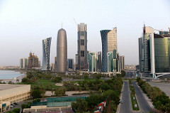 View from my room in Doha