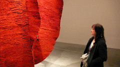 Kate with Magdalena Abakanowicz