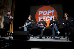 Laura Kurgan, Chris Jordan, Lorrie Vogel, Assaf Biderman and Andrew Zolli - Pop!Tech 2009 - Camden, ME
