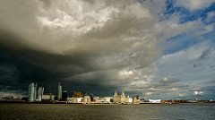 Rain Clouds over Liverpool