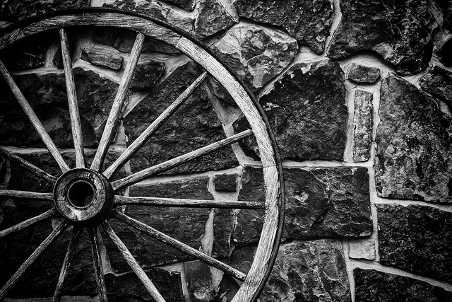 The Old Wagon Wheel_MG_3095