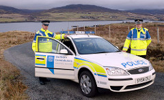 Northern Constabulary Ford Mondeo Mk3 Skye