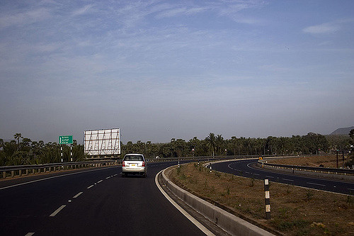 Road from vizag