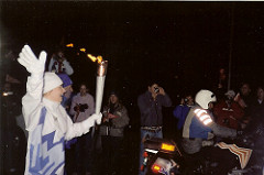Olympic Torch, Provo, Utah, 2002 Winter Olympics