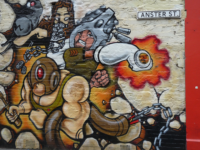 Street Art Adelaide. Dailyshoot