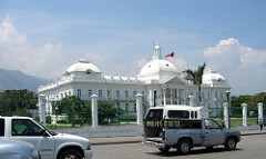 Typical Vehicles in front of Presidential Palace