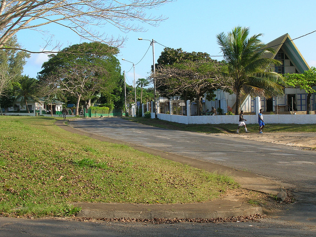 Port Vila city centre