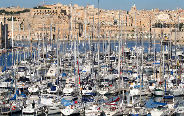 Yacht Marina; Dockyard Creek, Grand Harbour, Malta