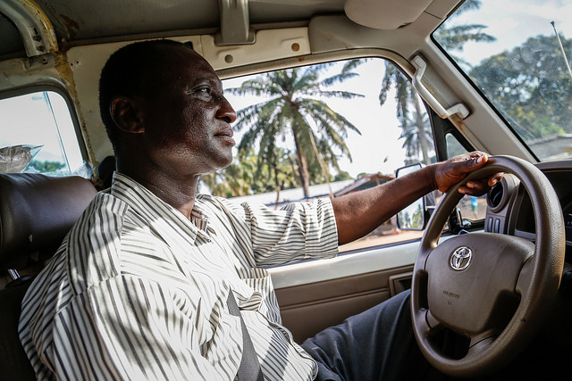 """We won this fight"" – Mohamed Kamara, Ebola burial team driver, Freetown, Sierra Leone"
