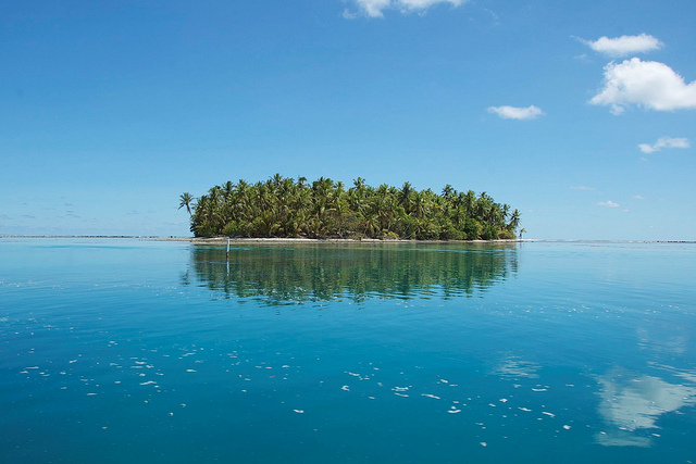 Landscape, Tokelau, 2011. Photo: New Zealand Ministry of Foreign Affairs and Trade