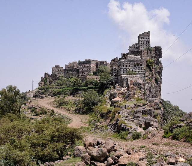 Haraz Mountain Village, Yemen