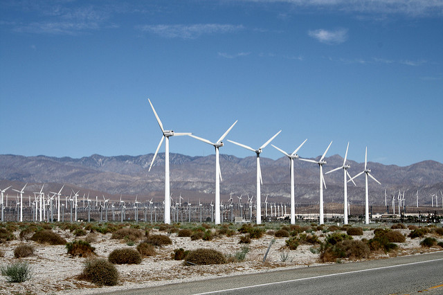 Palm Springs Wind Mills