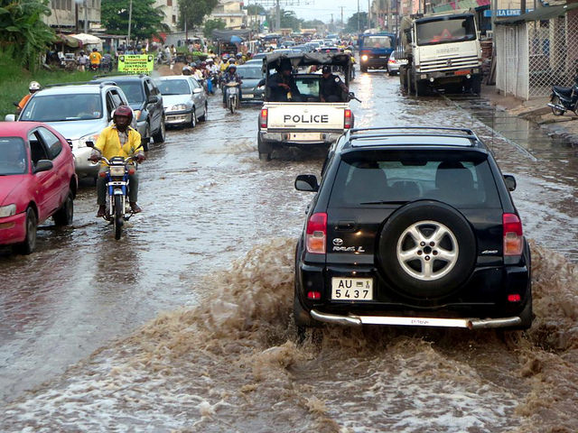 Flooded in Cotonou