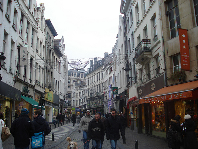 Brussels City Centre, Belguim