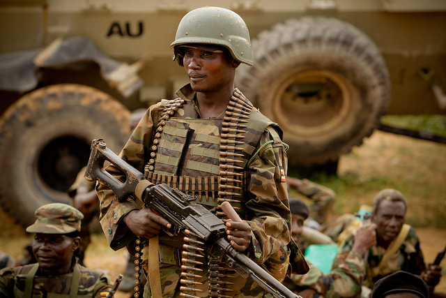 AMISOM & Somali National Army operation to capture Afgoye Corridor Day #5 01