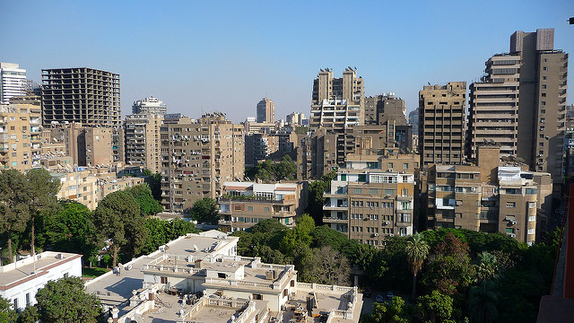 View of Cairo from the King Hotel - 3