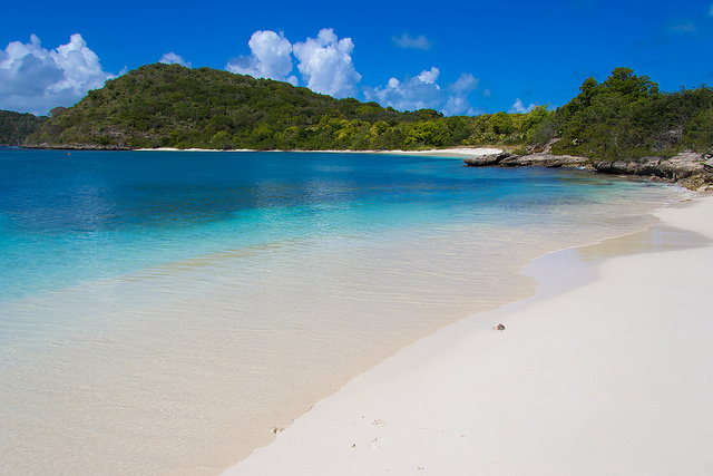 Beach at Green Island Antigua
