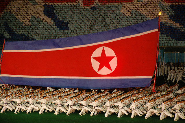 North Korea — Pyongyang, Arirang (Mass Games)
