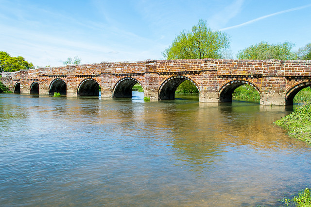 White Mill Bridge, Sturminster Marshall, Dorset