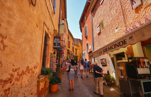 Alley In Roussillon
