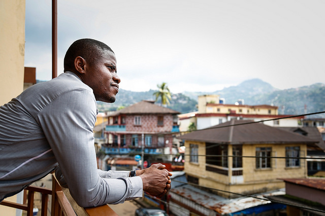 Yusuf Kabba - listening to the needs of Ebola survivors
