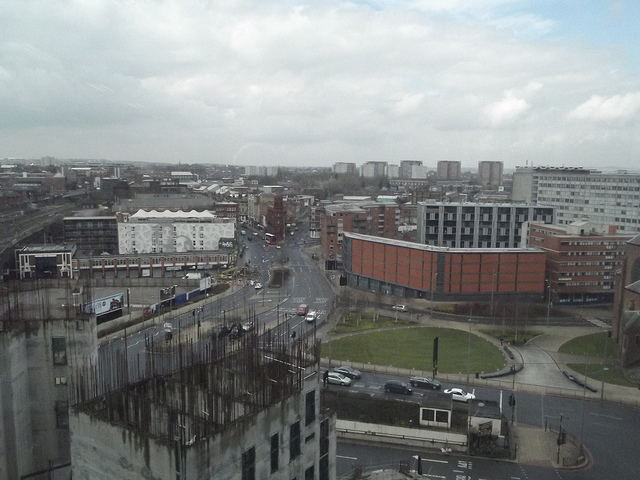 View from Two Snowhill - unfinished cores